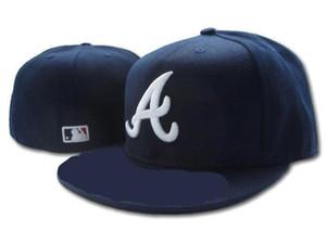 2019 Buena calidad Atlanta Road Colección auténtica en el campo Perfil bajo 59FIFTY Sombrero ajustado