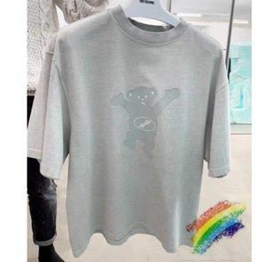 Colores gris rosado de gran tamaño camisas T Hombres Mujeres 1 la mejor calidad casaul Top Tee Camisetas