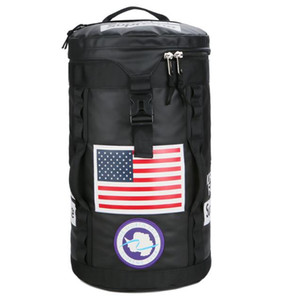 Barrel Backpack Large Travel Climbing Backpack Male Computer Multi-function Backpacks Round Duffle Bag