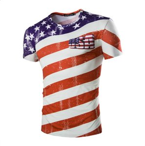 2020 USA Short Sleeve 3D Printed Soccer Fans T Shirts 2018 Casual Men And Women Fashion World Cup T Shirts Plus Size M-2XL