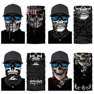 Wholesale- 800 Styles Select 3D Fish Design Magic Headband Outdoor Sport Cycling Bike Bicycle Riding Face Mask Head Skull Scarf Scarves B#805