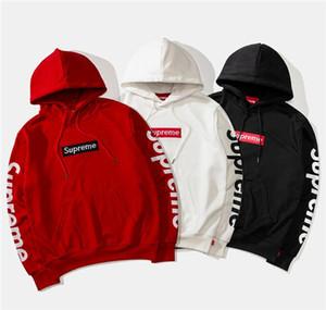 Nouvelle arrivée femmes hommes polaires Hoodies vestes de mode Sweats Pulls à col rond unisexe chaud manteau à capuchon B7197