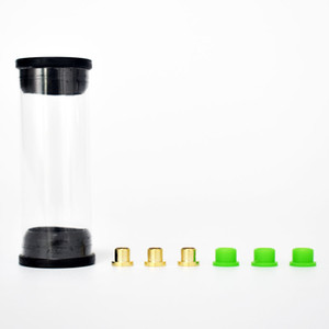 3 pcs pack Brass Pin and Silicone Grommets for Focus V Carta V2 Atomizer Repair Rebuild Kit Accessories Dab Rig Dry Herb Vaporizer