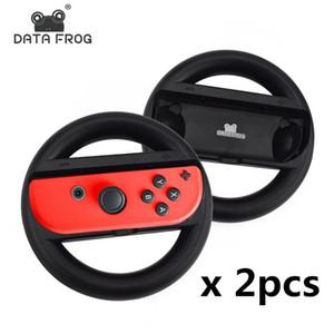 DATA FROG 레이싱 게임 스티어링 휠 Nintend 스위치 원격 투구 게임 바퀴를 들어 닌텐도는 NS 컨트롤러 스위치