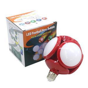 Super Bright LED pieghevole E27 40W LED Calcio lampada del UFO di CA 85-265V LED della lampadina della sfera della bolla Lampadina pieghevole Sostituire Luce alogena