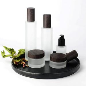 50pcs / lot 30ml / 100 ml de lotion bouteille de lotion mate de haute qualité couvre-grain de la lotion cosmétique de haute qualité