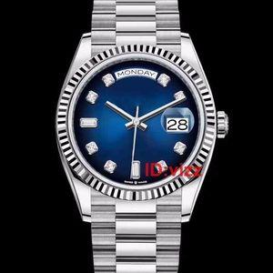고급 남성 시계 DATEJUST의 36mm 자동 기계 JUBILEE의 daydate 여자 남성 다이아몬드 디자이너 시계 손목 시계 시계 남자