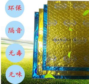 1 ПК 46 * 82см Красочные Теплоизоляция Хлопок Звукоизоляция Хлопок Тепло Pad Модифицированный Продукты автомобиля Стайлинг