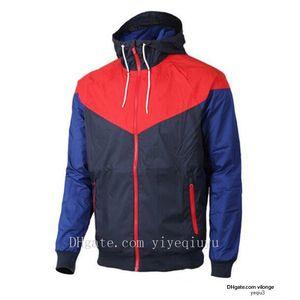 Hommes veste design Printemps Automne Windrunner Vestes mince manteau sport hommes coupe-vent femmes couple marque hommes haut J3 Livraison gratuite