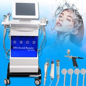 Hydra Cuidado de la piel facial profundamente Pore Cleansing Microdermabrasion del diamante Negro cabeza de elevación Retire la piel de apriete de belleza Instrumentos