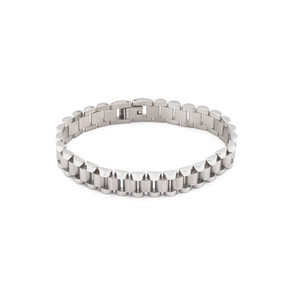 2019 fashion titanium steel gear-shaped chain bangle buckle chain-type split bracelet four-color couple bracelet love guardian bracelet