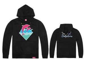 2019 Marque Hip Hop Hommes et Femmes Pink Dolphin Hoodies Couverture Sport Épais Coton Sweat À Capuche Pink Dolphin Hommes Sweats Livraison Gratuite