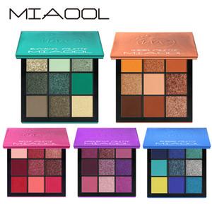 Miaool 9 renk elmas göz farı taşınabilir halo, inci ışık, mat polarize gözler gölgeler hızlı satış dilek iyi satış