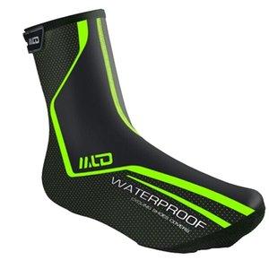 Couvre-chaussures Protection Sport chaud Équitation antipoussière Non Slip coupe-vent imperméable en cuir PU extérieur du vélo Accessoires de vélo