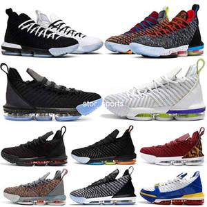 lebron 16 16 s Erkek Basketbol Ayakkabıları Eşitlik Taze Getirdi Ben Söz Oreo 1 Thru 5 Ne Kral Mahkemesi Mor Eğitmen Spor Sneakers 7-12