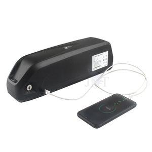 Ücretsiz Kargo 48 V 17AH Hailong 18650 EBike Samsung 18650 piller 30A BMS para 750W 1000W motoru + 2A Şarj