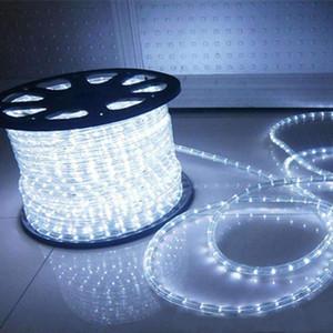 100 Feet 720 LED luzes da corda, de 2 fios de baixa tensão impermeável Rope Luzes ao ar livre, Fundo Iluminação interna Idear para Trees, Bridges, Eaves, Piscina