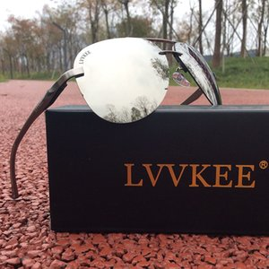 LVVKEE 2020 HOT klassischen Marken polarisierte Männer Frauen Treiber Spiegel Sonnenbrillen Polaroidobjektiv Randlos uv400 Sonnenbrille Top