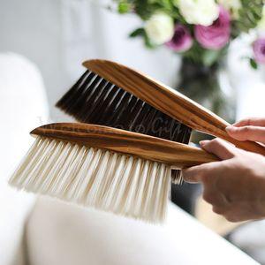 Soft brush dusting brush bedroom broom sofa seat cleaning brush anti-static cleaning tool PBT antistatic nylon DN055