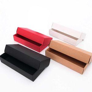 25X9. 5cm 22. 5X9. 5cm крафт-бумага красный черный коричневый картон для упаковки носки нижнее белье бюстгальтер полотенце подарочная коробка может быть настроена логотип