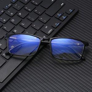 2020 새 컴퓨터 전화 독서 안경 고글 투명 유리 렌즈 남여 안티 - 파란색 안경 프레임은 최고 품질의 컴퓨터 고글 안경