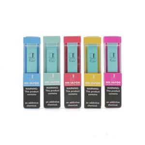MR VAPOR descartável Dispositivo MR Vapor Vape Pen Pods Iniciado 280mAh Battery 1,3ml cartuchos de cigarro e Va bidi Ezzy Pop além de Dispositivo