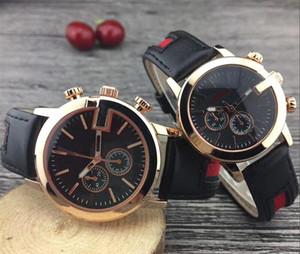 TOP Männer Frauen Automatische Quarzuhr Wasserdicht Lederband Luxus Mode Business Männer Sport Armbanduhr Uhr