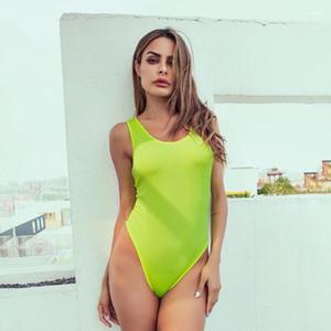 Sexy dos ouvert Skinny Vêtements Street Style Shorts Night Club barboteuses Femmes d'été Designer couleur fluorescente combis
