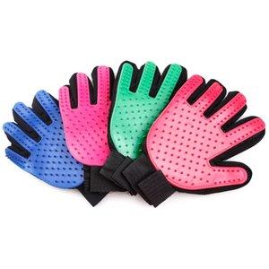 New Pet Brush Cat Dog Comb Care Glove Pet Shedding Salon Gloves Comb Hand Shaped Glove Five Fingers Pet Clean Comb