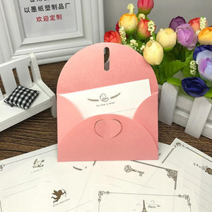 30Pcs Retro Blank Mini Paper Envelopes Wedding Party Invitation Greeting Cards Gift heart love letter