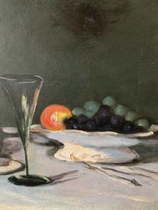 Pittura MODERN BRITISH OLIO - ANCORA VITA OGGETTI TAVOLA - DOPO S.J. Pittura Peploe olio su tela arte della parete della tela di grandi dimensioni Immagini