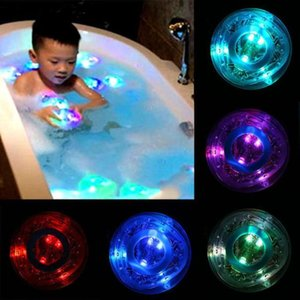 Pudcoco Newest Arrivals Hot Infant Newborn Toddler Toys In The Tub Bath Time Baby Kids Shower Fun Color Changing Led Light Toys dLNiK