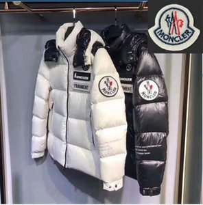 A15 2020 beiläufige Daunenmantel Daunenjacke Glänzend matt beschichtet unten Herren Outdoor-Warm-Feder-Kleid Unisex Winter warme Jacke outwear des Mannes