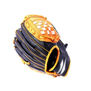 Flexible Training Soft Adjustable Game Cushioned Baseball Glove Outdoor Kids Catcher Impact Reduce Softball Mitts Sports