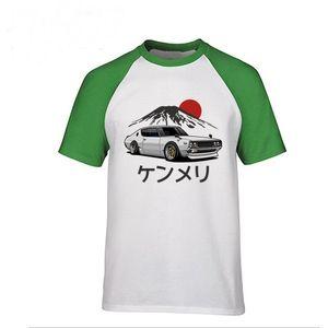 Homens de verão Fresco T Shirts Carros Gráfico tshirt dos homens do Carro GTR Camiseta Nissan Skyline GTR 34 Haruna Homens Marca T-Shirt Polos