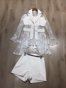 CH04303 Мода женские наборы 2020 Runway Роскошный Европейский стиль дизайна партия женской одежды