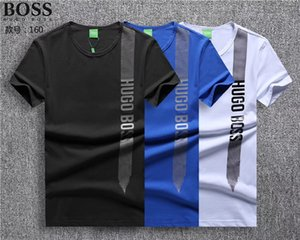 Marque Designer - manches courtes en coton mercerisé, à manches courtes hommes, T-shirt, col rond, coton hommes occasionnels T-shirt imprimé de G24