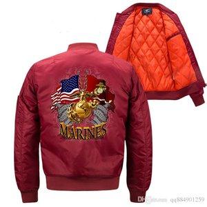 Military Style Jacken für Männer BomberJacket Windschutz Herbst Winter Mäntel Warme Outwear Baumwolle Gepolsterter Mantel Big Size Herren Designerjacken