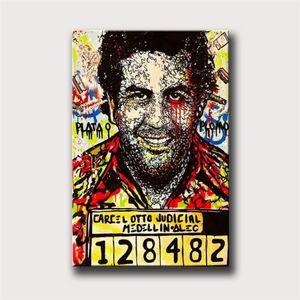 Pablo Escobar, Alec Monopoly, Canvas HD Imprimir Início Pintura Decor Art / (Unframed / Framed)