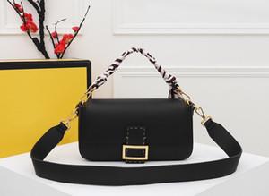 Neue heiße Verkaufs-Modedesigner Damen Handtasche Kette Umhängetasche Schultertasche Leder Rindsleder handgenähte Wachs Linie Baguette Tasche