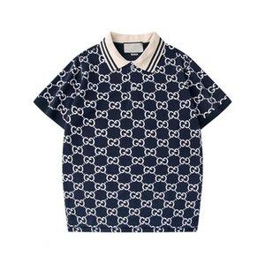 2020 Printemps Eté luxe Italie T T-shirt Designer Polos Rue Broderie Jarretière Impression Vêtements pour hommes Marque Polo