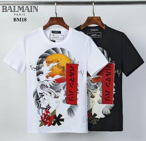 Luxe Mens Designer T-shirts d'été T-shirt grue d'impression T-shirt Designer Hip Hop Mode Hommes Femmes manches courtes T-shirts Taille # g3