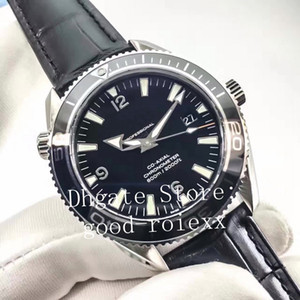 Liquidmetal para hombre de cerámica Bisel automático ETA 2824 del cuero del reloj de los hombres 1948 Profesional axial deporte de buceo 600m suiza N Noobf fábrica de relojes