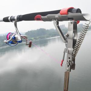Стержни Новых Складного Автоматического двойного Спринг Угол удочка снасть кронштейн Anti-Rust стал рыбалкой Кронштейна Rod Holder рыба снасти