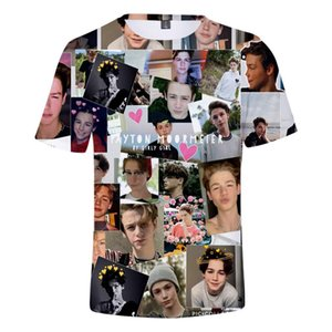 3D Full Printed Payton Moormeier T Shirt Men Women T Shirt Boys Girls Tees Casual Summer Popular T-shirt Hip Hop Short Sleeve