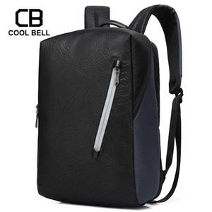 Şifre Hırsızlık Erkekler Sırt Çantası Harici USB Şarj Sırt Çantası Erkekler 15,6 inç dizüstü Spor Su geçirmez Seyahat Sırt çantaları