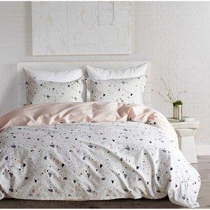 Yimeis lecho de algodón cómodo las sábanas de cama moderna sábanas y fundas de almohada BE47109