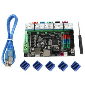 Yeni MKS SGEN L V1.0 3D Printer Control Board ile TMC2280 Sürücü * 5 32bit