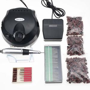 30000 RPM Pro Electric Nail Art Drill Machine Nail Bits Equipment Manicure Pedicure Files Electric Manicure Traill Composition