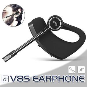 V8S sem fio Fone de ouvido Bluetooth Stereo Legend Earpieces CSR V4.0 Handsfree Earbuds Fones de ouvido com Mic Voice Control E pacote de varejo